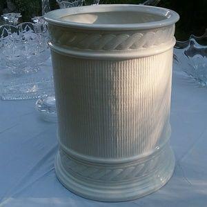 Ralph Lauren RLL White Ivory Porcelain Wastebasket